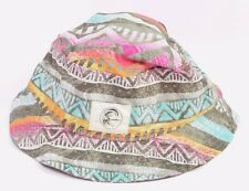 O'Neill VOYAGE Mens Cotton Blend Bucket Hat One Size Grey Print NEW 2017