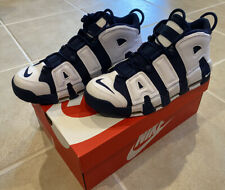 Nike Air More Uptempo Olympic 2020 White Navy 414962-104 The Last Dance Mens 12