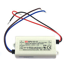 1pc LED Power Supply Constant Voltage CV Driver APV-12-12 12W 12V 1A Mean Well