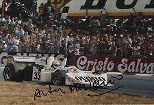 Arturo Merzario Firmato a Mano 12x8 PHOTO OVORO f1 MARZO 1.