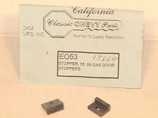 1955-59 Chevy Gas or Fuel Door Rubber Bumper Stopper Set  Show Quality!
