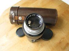 Leica E. Leitz N.Y. Wollensak 127mm Velostigmat II f/4.5 Lens Leica Screw Mount