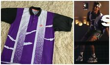 Vintage 90s Nike Challenge Court Andre Agassi polo shirt Tennis Purple - size M