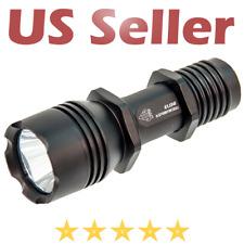 UTG Leapers COP 200 LED Light Flashlight Single Battery, Handheld or QD Mount