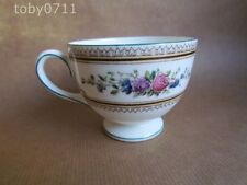 Wedgwood Date-Lined Ceramic Cups & Saucers