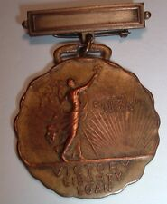 RARE World War One WW1 Victory Liberty Loan Distinguished Service Medal