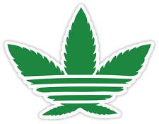Cannabis weed erbaccia Unkraut  green etichetta sticker 12cm x 9cm