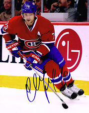 ANDREI MARKOV signed MONTREAL CANADIENS 8X10 PHOTO COA