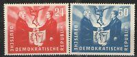 Germany - GDR/DDR 1951 Sc# 80-81 MH VG/F - Oder-Niesse set