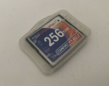 Compact Flash Memory Card Dane-Elec 256MB with Case TESTED