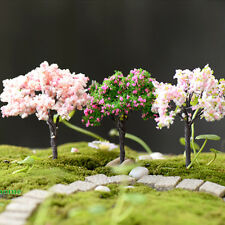 3 pcs Miniature Tree Terrarium Accessory / Terrarium Tree / Fairy Garden Supply