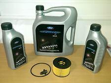 ORIGINAL Ford Motoröl FORMULA F 5W30 7 Liter + Ölfilter 1088179 Ölablassschraube