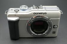 Olympus Pen E-PL1 12.3MP Digital Mirrorless Camera Micro 4/3 Body Only - Silver