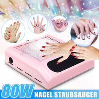Nail Dust Collector Remover Suction Manicure Machine Vacuum Fan Cleaner Filter