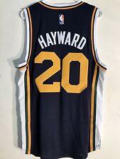 Adidas Swingman 2015-16 NBA Jersey Utah Jazz Gordon Hayward Navy sz XL