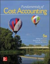 Fundamentals of Cost Accounting (5th ed.) by Lanen, Anderson & Maher