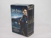 Coffret 8 DVD HARRY POTTER Années 1-4 Ecole sorciers Chambre Secrets Azkaban Feu