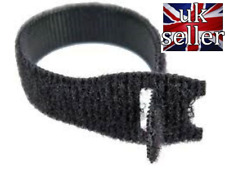 VELCRO® Brand ONE WRAP® 10 x 20mm x 200mm Cable Tie Black Double Sided Strapping