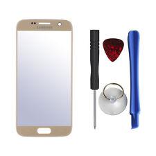 Cristal frontal para Samsung Galaxy s7 en oro