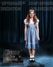 JUDY GARLAND as DOROTHY Test Shot #2 -OZ   8x10 COLOR Photo by CHIP SPRINGER