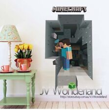 3D Large  Removable Mine Wall Stickers kids Vinyl Art Craft Decal 2