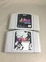 THE LEGEND ZELDA Majora's Mask Ocarina of Time Nintendo 64 N64 JAPAN