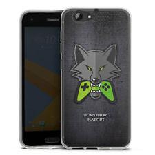HTC One A9 s Silikon Hülle Case HandyHülle - VfL Wolfsburg eSport