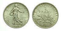 pcc1604_2) Francia -  1 Franco 1918 AR