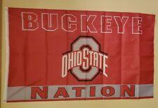 Ohio State Buckeye Nation Flag 3 x 5 Flag #150
