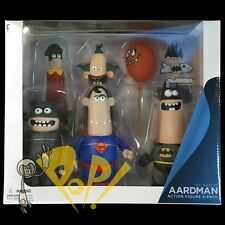 Aardman DC Nation BATMAN Action Figure BOX Set DC Collectibles JOKER Robin MORE!