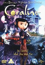 ANIMATED CHILDREN s FANTASY DVD – CORALINE – NEIL GAIMAN