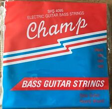 SET OF CHAMP SHORT SCALE BASS GUITAR BRONZEWOUND STRINGS / 40-95