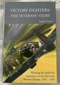 VICTORY FIGHTERS - THE VETERANS' STORY Hardback BOOK , Stephen Darlow