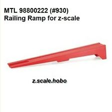 Micro-Trains MTL Z Scale Rerailer Re-Railer Ramp Locom​otives Cars *NEW $0 SHIP