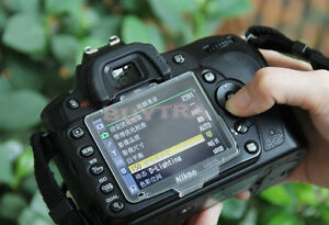 Plastic Hard LCD Cover Screen Protector For Nikon D90 BM-10 Cle^mx