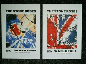 THE STONE ROSES POSTER PRINTS A4  (2)