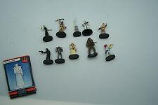 star wars lot mini figures 10 pieces one money # 22