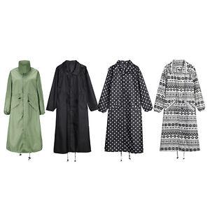 Fashion Rain Coat Waterproof Outdoor Women Men Raincoat Long Poncho