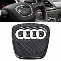 Fibra di Carbonio Volante Emblema Distintivo Adesivo per Audi A4 S4 A5 Q5