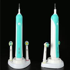 Electric Toothbrush Head Holder Tooth Brush Charger Base Stand For Oral-B White