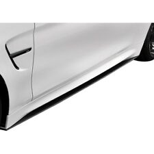 For BMW 440i 17 18 M Performance Style Fiberglass Side Skirt Splitters Unpainted