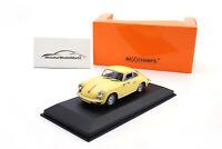 #940062361 - Minichamps Porsche 356 C Carrera 2 - Gelb - 1963 - 1:43