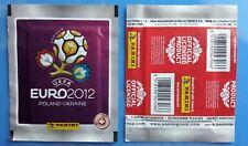 1 X PACKET PANINI EURO 2012 POLAND UKRAINE.  SWISS VERSION POCHETTE TUTE BUSTINA