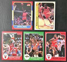 Lot of 5 Michael Jordan Reprint Cards - Mint - Chicago Bulls
