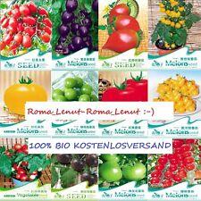 180 Tomatensamen- (12 Sorten) - Tomaten Non- GMO Bio-100%-BLITZVERSAND!!!