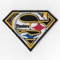 Pittsburgh Steelers [T] Iron on Patches Embroidered Badge Patch Applique Sew FN