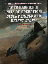 AV-8B Harrier II Units of Operations Desert Shield & Desert Storm (Osprey 90)