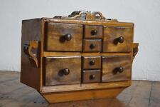 Wandschrank Schubladenschränkchen Alt Antik Vintage Jugenstil Shabby Landhaus
