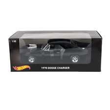Hotwheels 1/18 Scale The Fast & The Furious Dom's 1970 Dodge Charger Diecast Car