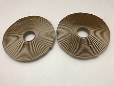 """DUCTMATE GASKET TAPE 3/16"""" X 5/8"""" X 25' Package Of Two Rolls New."""